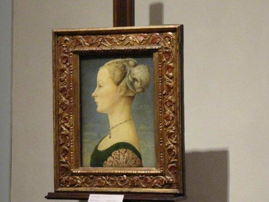 Museo Poldi Pezzoli: dama del pollaiolo