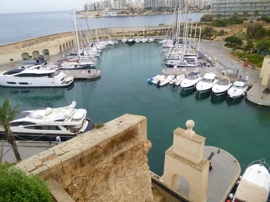 Hilton Malta: view from room 515