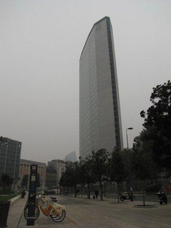 Grattacielo Pirelli : Pirellone , Diamente e bici