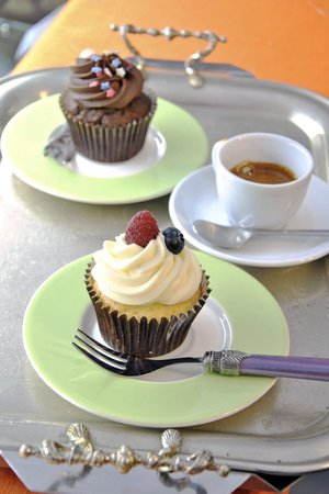 Ginger - Tea & Cakes : cupcakes