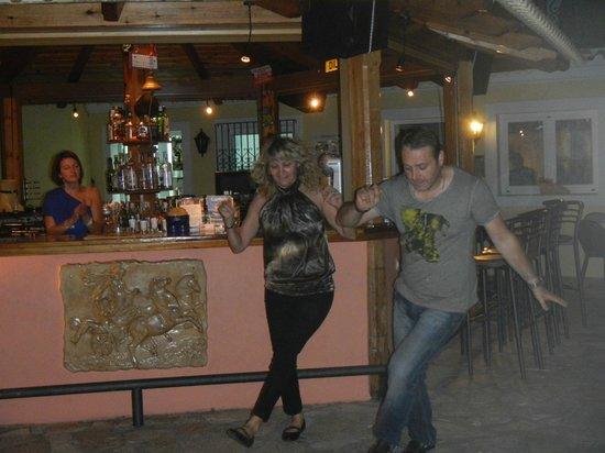 Maria Studios: Yiannis and sister dancing