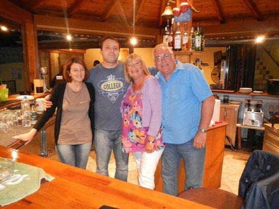 Maria Studios: Katerina, Yiannis and us behind bar