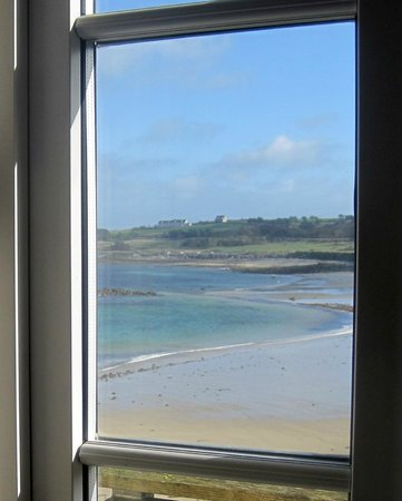 Braye Beach Hotel: View from our window