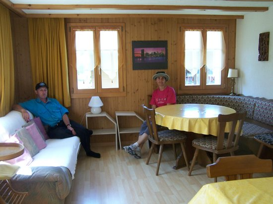 Ferien am See: The communal lounge area