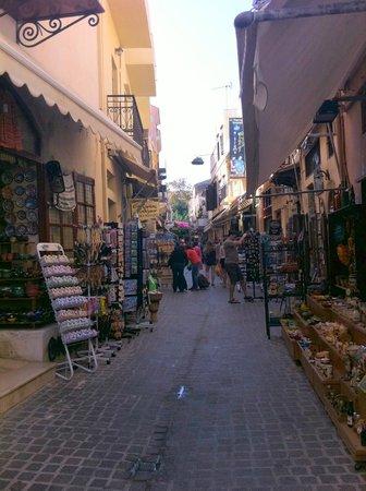 Minoa Palace Resort & Spa: Back street in Chania