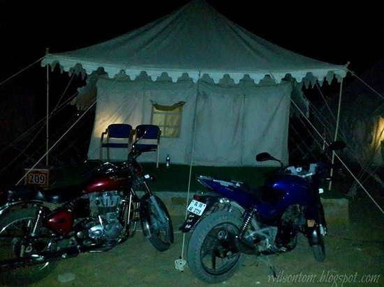 Mehar Adventure Safari Camp: Our Tent No : 209