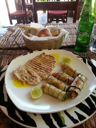 Waikiki Zanzibar Resort: Barracuda special!