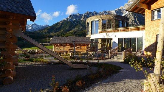 Übergossene Alm Resort : Kinder Outdoor Bereich