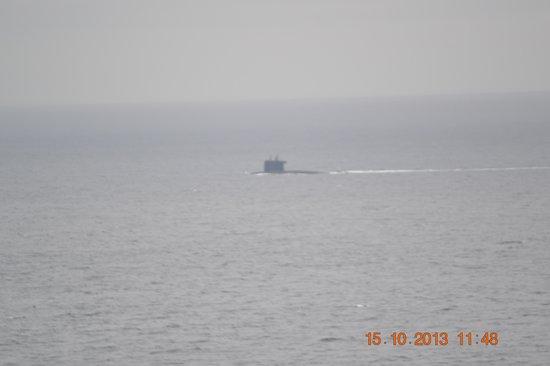 Lizard Lighthouse Heritage Center: Submarine surfaceing