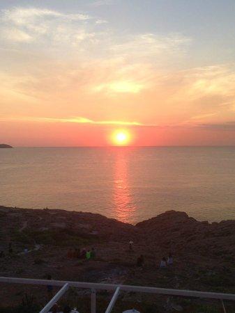 Hostal La Torre: tramonto dalla terrazza