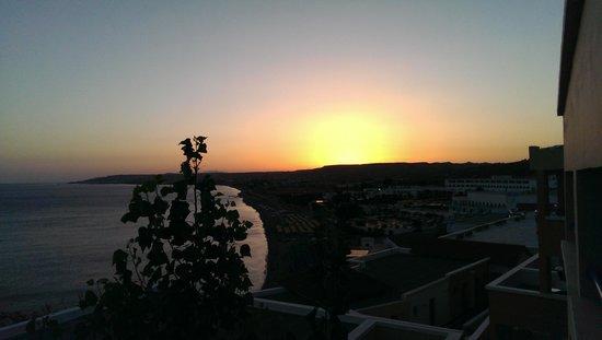 Mitsis Summer Palace Beach Hotel : Sun set