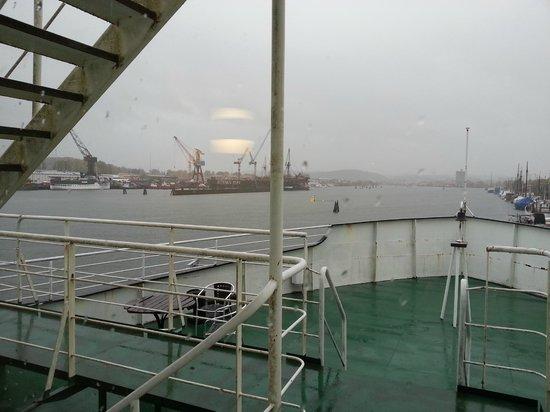 Good Morning+ Goteborg City : Vista dal passaggio ponte