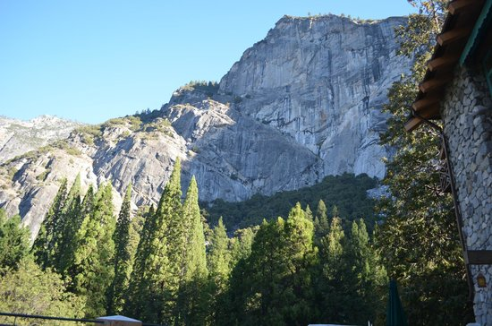 The Majestic Yosemite Hotel: Other view from our room