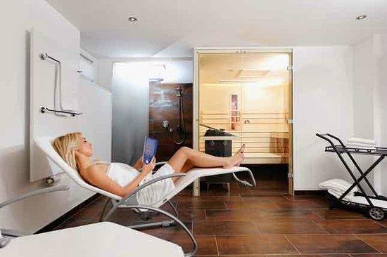 Pension Kappacher: Sauna mit Ruheraum