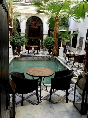 Le Riad Monceau: Main Grounds