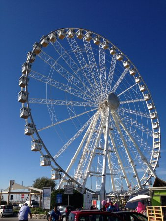 Rimini Eye in the Fall one of the few attractions still open