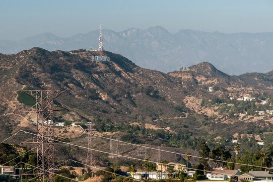 Santa Monica Mountains: Hollywood Sign in the Santa Monica Mtns