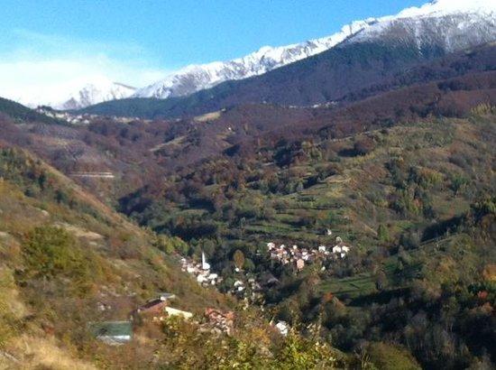 Rugova Mountains : A Muslim Village