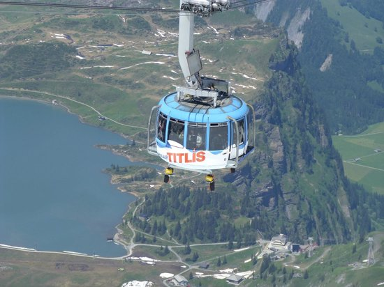 Titlis: The World's 1st Revolving Cable Car