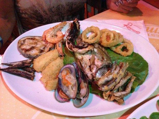 Remezzo : Mixed Fish