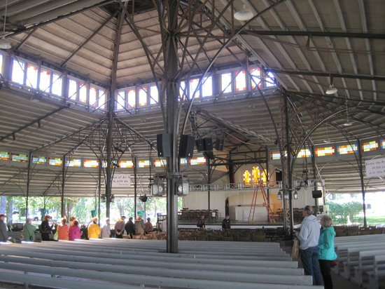 Trinity Park Tabernacle: Interior Of The Tabernacle