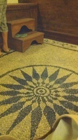 F Charm Hotel: pavimentazione in mosaico originale del 1908
