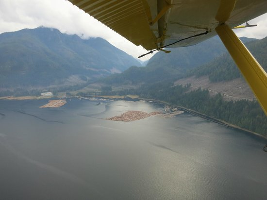 View from Air Nootka mail flight