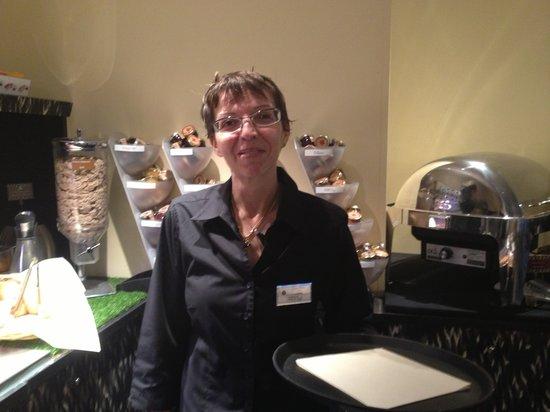 Eden Hotel & Spa: NATHALIE, Chef de rang service petit-déjeuner