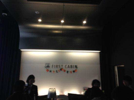 First Cabin Midosuji-Namba : Reception