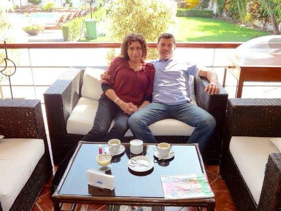Hostal El Condado Srl: Con la mujer de mi vida