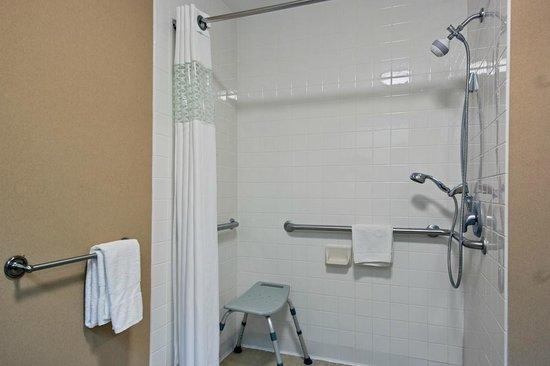Hampton Inn Mattoon: ADA Guest Bathroom