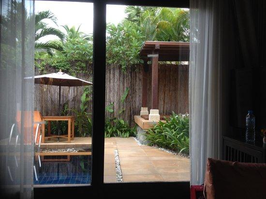 Bandara Resort & Spa: The villa's pool and courtyard