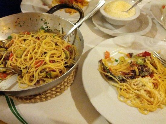 La Piazzetta Pizzeria Spaghetteria: Pasta alle verdure