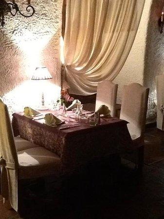 La Table Du Moulin : interieur du moulin