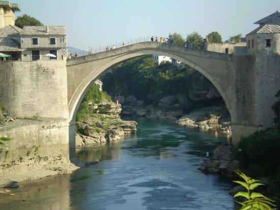 Mostar Inn: Panorama dalla camera