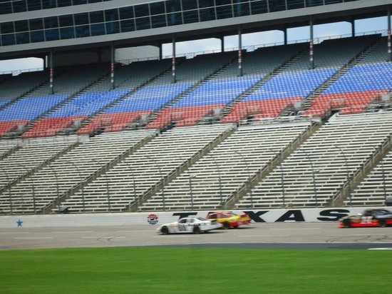 Testing On The Circuit Picture Of Texas Motor Speedway