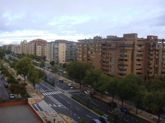 Extremadura Hotel : Vistas  desde 5ªplanta