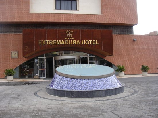 Extremadura Hotel : Entrada