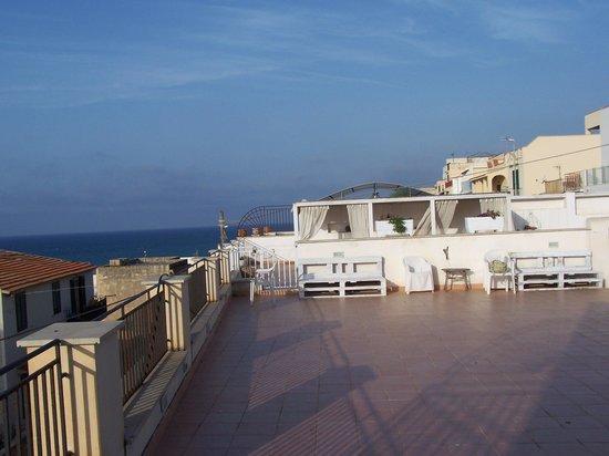 Sicilia Cuore Mio : terrazza appartamento panoramico