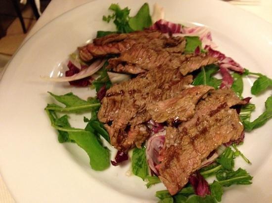 La Barcaccia : beef, so full of flavor