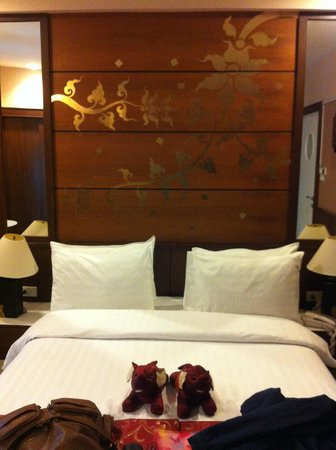 Mariya Boutique Residence at Suvarnabhumi Airport: The bed