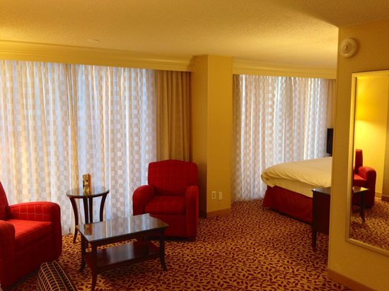 Houston Marriott West Loop by The Galleria: Seating area