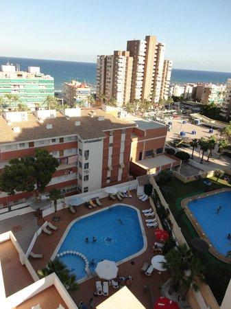 Hotel La Familia Gallo Rojo: PRECIOSAS VISTAS DESDE LA HABITACION
