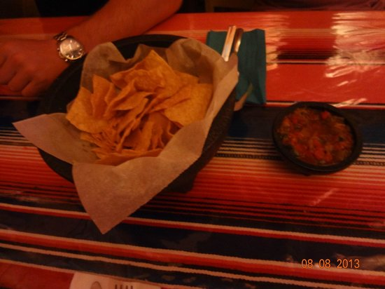 Sophie's Mexican Kitchen : Chips