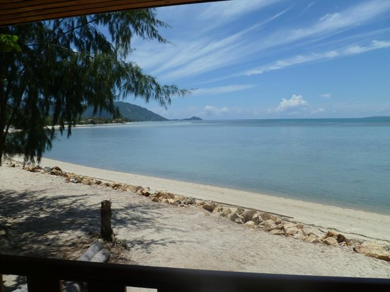 Koh Phangan Tropicana Resort: View from the front Hut
