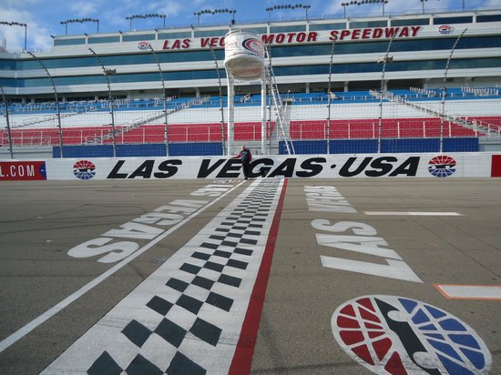 Finish Line At Vegas Speedway Picture Of Las Vegas Motor