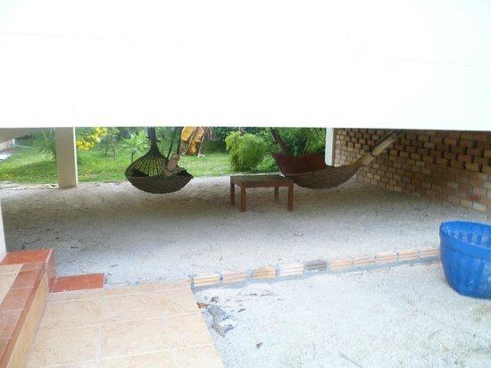 Koh Phangan Tropicana Resort : Hammocks