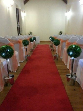 Boringdon Hall Hotel and Spa: Our ceremony room - the Parker suite
