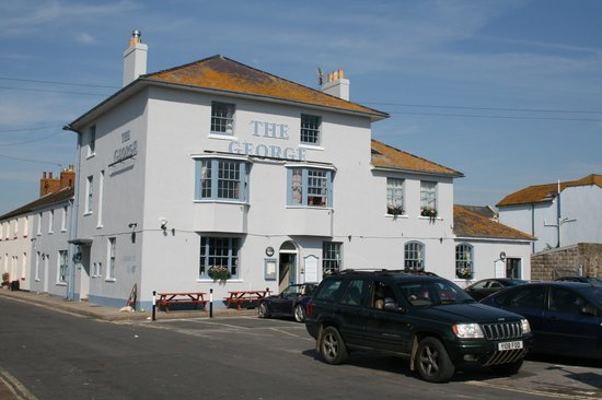 West Bay, UK: The George, Hotel on the Harbourside
