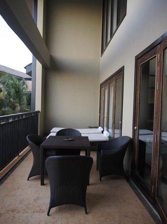 InterContinental Mauritius Resort Balaclava Fort: Balcony
